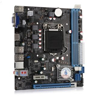 HONGSHUO H61 Micro ATX Motherboard -  Colormix