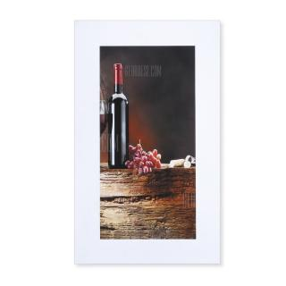 5PCS Red Wine Printed Canvas Wall Sticker Wallpaper