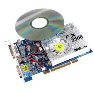 DN160207 3D Video Card Computer Hardware with Cooler Fan