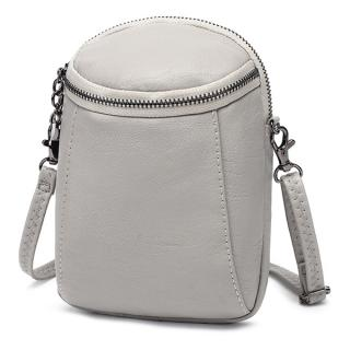 Women Casual Faux Leather Crossbody Bag Bucket Bag