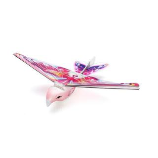 Taibao Flapping Wing RC Aircraft 2.4GHz 2CH RTF Version Bird Design -  Pink