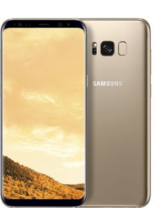Samsung Galaxy S8 Dual Sim - 64GB, 4G LTE, Maple Gold
