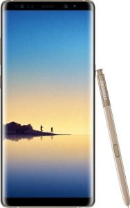 Samsung Galaxy Note 8 Dual SIM - 64GB, 6GB RAM, 4G LTE, Maple Gold