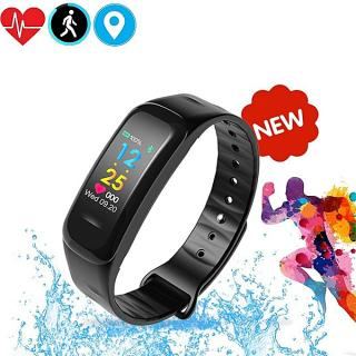 Elegant C18 Smart Bracelet Fitness Tracker Heart Rate Monitor Smart Wristband Waterproof Smart Band Activity Tracker Watch