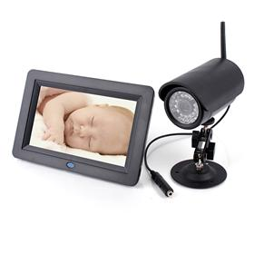 7 Inch Wireless Camera Monitor System for Office/Baby DVR Monitoring