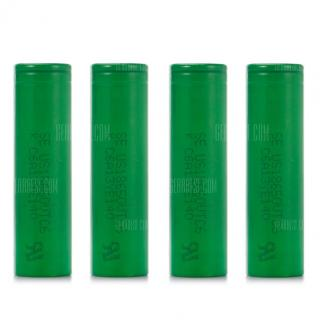 4 x US18650VTC6 3120mAh 30A 3.6V 18650 Li-ion Battery