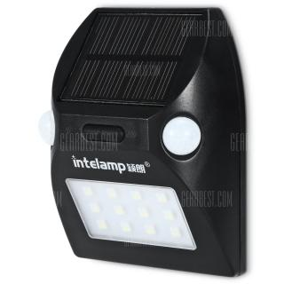 intelamp YL - 003 Solar Powered Dual Head Spotlight