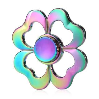 Quad Bar Four-leaf Clover Fidget Spinner Anxiety Toy
