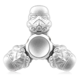 Tri-bar Warrior Fidget Spinner Zinc Alloy Stress Relief Toy