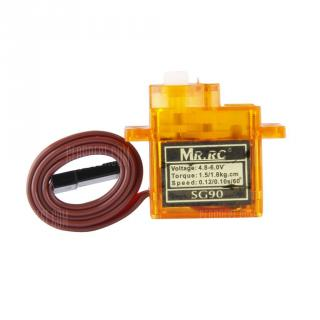 MR.RC SG90 Mini Gear Micro Servo 9g For RC Airplane Aircraft Helicopter