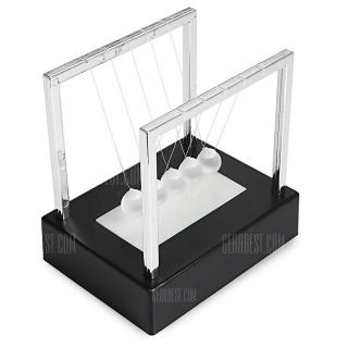 2cm Luminous Ground Glass Pendulum Newton Cradle Balance Ball