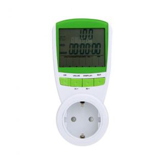 Power Energy Meter Watt Voltage Current Frequency Monitor Analyzer for Home Use  -  230V