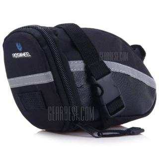 ROSWHEEL 13196 Bicycle Saddle Bag for Outdoor Cycling