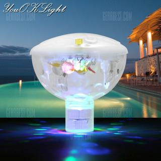 AAA Operated LED Pool Light