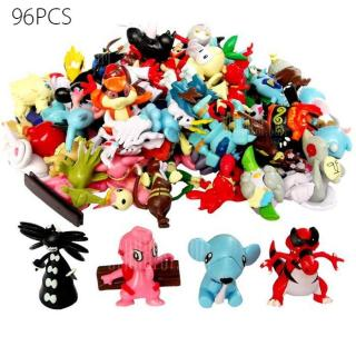 Lovely Little Monster Figure Model Collection 96pcs