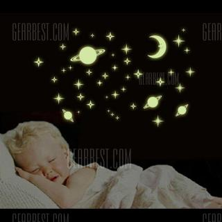 Microcosmos Fluorescent Kids Wall Decals