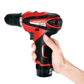 POWERACTION CD6262 12V Electric Screwdriver Power Tool