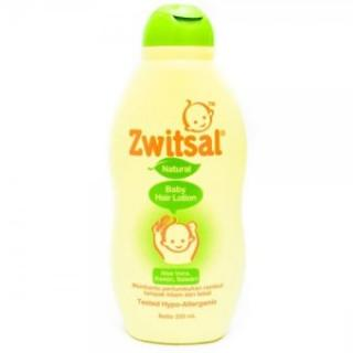 """Zwitsal Baby Hair Lotion Aloe Vera, Kemiri, Seledri 200 ml"""