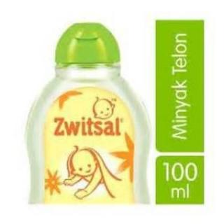 Zwitsal Baby Natural Minyak Telon 100Ml Anti Nyamuk
