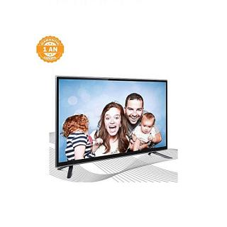 "43"" HD Ready VS43LD56T Smart TV-Double Glass-Noir + Carte IPTV 12 MOIS SMART PLUS + Support Mural"