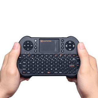 MantisTek®  MK1 2.4GHz Wireless Mini Keyboard Air Mouse Remote Control for Android Windows