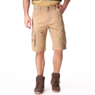 Men's Casual Cotton Cargo Loose Shorts Pants