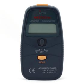 High Reliability MASTECH MS6500 3 1/2 K-type Digital Thermometer