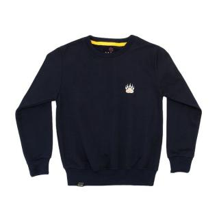""" Bears "" Print Boys Long Sleeves Sweatshirt - Navy Blue"