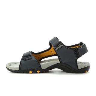 Velcro Sandals - Navy & Grey