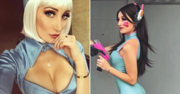 Holly Wolf might be the sexiest cosplayer out there (13 Photos)