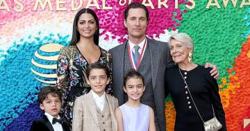 Matthew McConaughey's Kids Proudly Support Him in Their First Public Outing in Nearly 5 Years