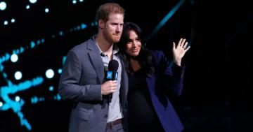 Meghan Markle and Prince Harry Look So in Love as She Makes a Surprise Appearance