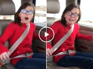 Heartwarming moment little girl finds out she's being adopted (Video)