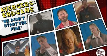 "The Avengers Cast's Cover of ""We Didn't Start the Fire"" Recaps the Entire Marvel Franchise"