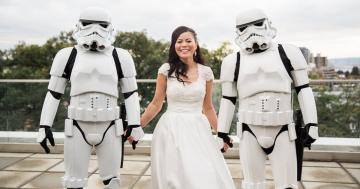 This Is Exactly What an Epic Star Wars Wedding Could Look Like