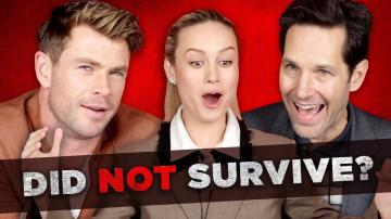 The Cast Of Avengers Endgame Tries To Survive Thanoss Snap