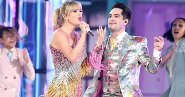 "Taylor Swift and Brendon Urie Bring Magic to the BBMAs With Their First Performance of ""Me!"""