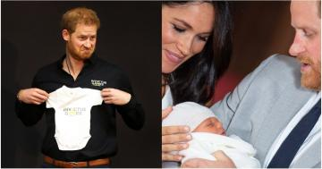 Prince Harry Was Surprised With an Invictus Games Onesie For Baby Archie and Be Still My Beating Heart