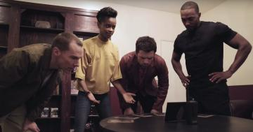 The Avengers Cast Uses Their Wit and Marvel Knowledge to Break Out of an Escape Room