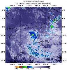 NASA Northern quadrant strength in Tropical Cyclone Lili