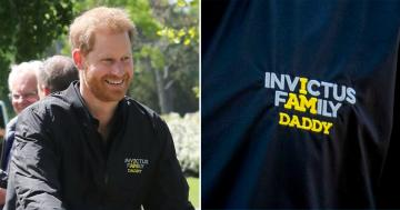 "Prince Harry Wore a ""Daddy"" Jacket, and I Need a Minute to Process the Cuteness"