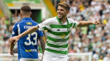 Celtic 7-0 St Johnstone: Ryan Christie hat-trick in thumping win
