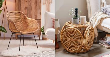 90+ Wonderfully Woven and Rustic Rattan Furniture Pieces Your Home Needs ASAP