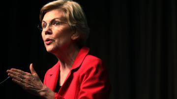 Key Words: Elizabeth Warren hammers 'hate-for-profit' Fox News after shootings