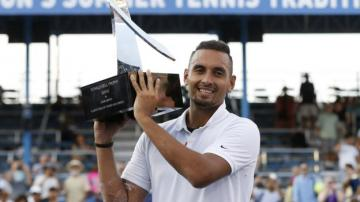 'One of my greatest weeks' - Kyrgios wins title in Washington