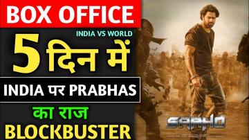 Saaho Box Office Collection, Box Office King, Saaho 4th Day Collection, Saaho 5th Day Collection