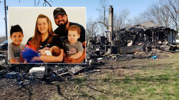 America Together: Missouri small town rallies around family who lost everything in fire