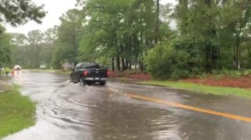 Bertha remnants threaten to bring tropical downpours, flooding to Carolinas, Virginia