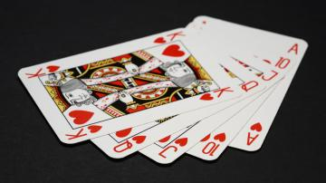 Shuffle a Deck of Cards for a Quick Workout