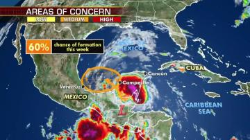 Hurricane season 'off to a busy start' as tropical disturbance likely to develop in Gulf of Mexico
